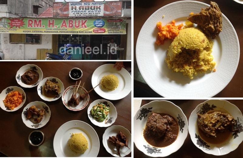 Nasi Minyak Abuk Palembang
