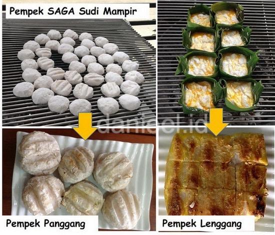 Pempek SAGA Sudi Mampir Palembang