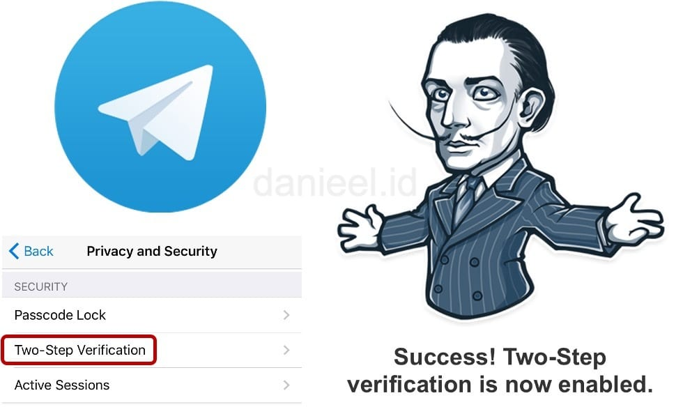 Telegram Two-Step Verification