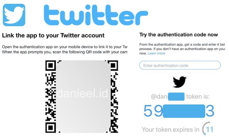 Two-Step Authentication Twitter