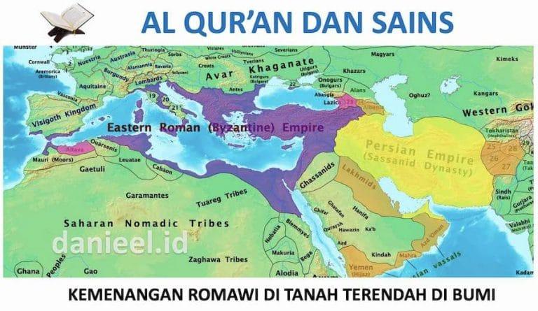 Mukjizat Al Qur'an Perihal Kemenangan Romawi dan Tanah Terendah di Bumi