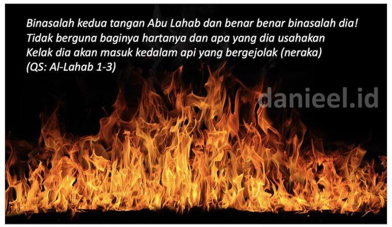 Bukti Kebenaran Al Qur'an Dalam Surah Al-Lahab