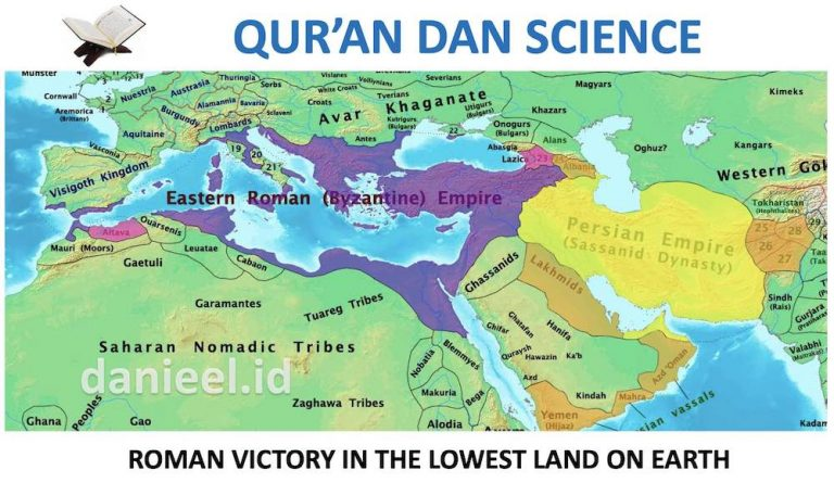 The Miracles of the Qur'an Regarding Roman Victory and the Lowest Land on Earth