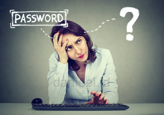 often forget the password ? use the password manager application